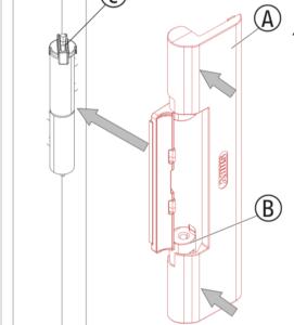 Montering av ABUS AC4100 dörrstängare